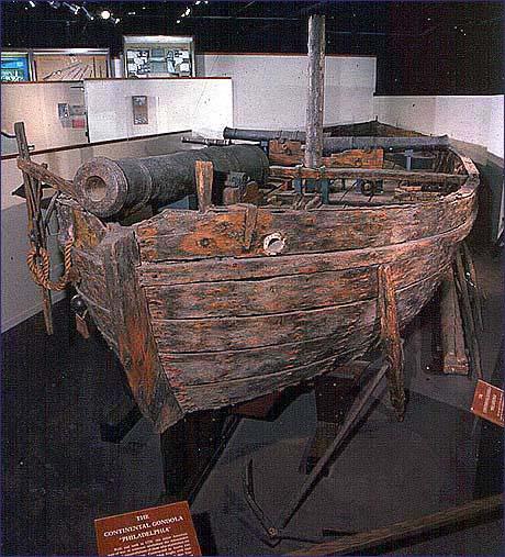 Gunboat Philadelphia, Smithsonian Institution