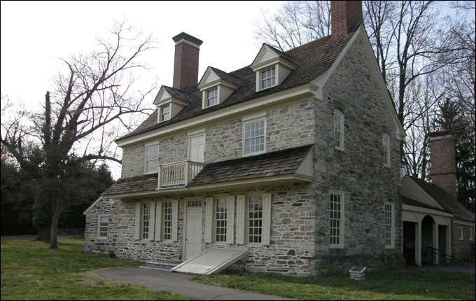 Harriton House, Bryn Mawr, Pennsylvania, Home of Charles Thomson