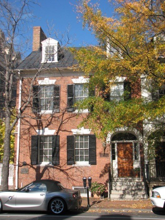 Henry Lee's house in Alexandria, Virginia