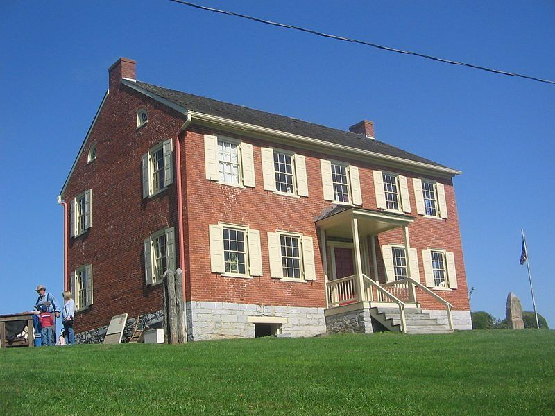 Hower-Slote House, site of Fort Freeland