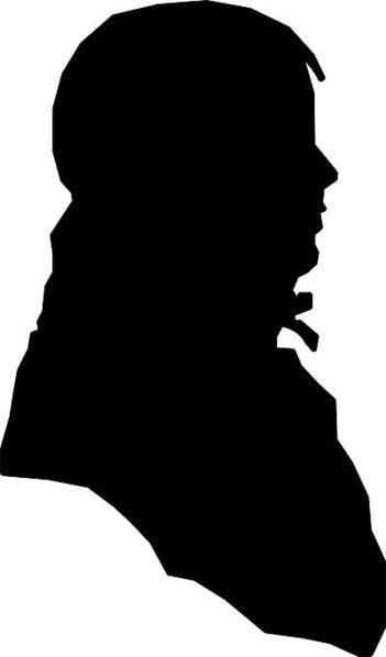 Jack Jouett Silhouette by Matthew Harris Jouett