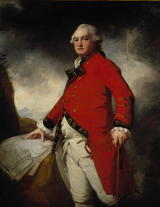 Major General James Stuart by George Romney