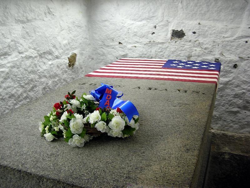 John Adams tomb