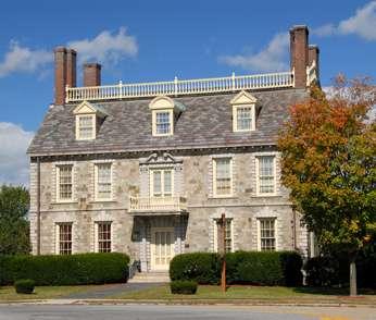 John Hancock House Replica, Ticonderoga, New York