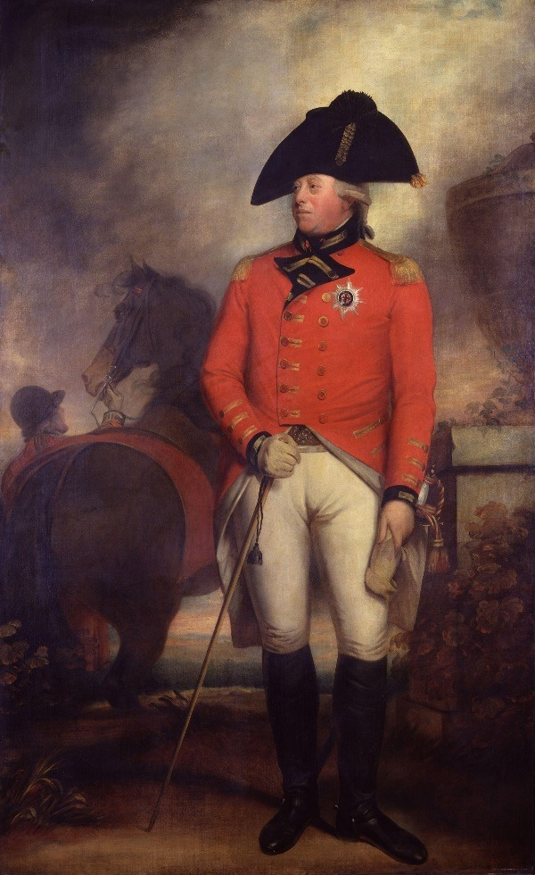 King George III, ca. 1800 by Sir William Beechey