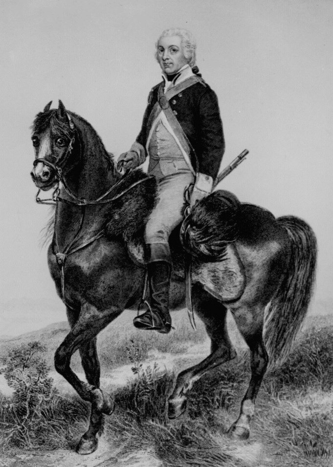 Light Horse Harry Lee by Alonzo Chappell