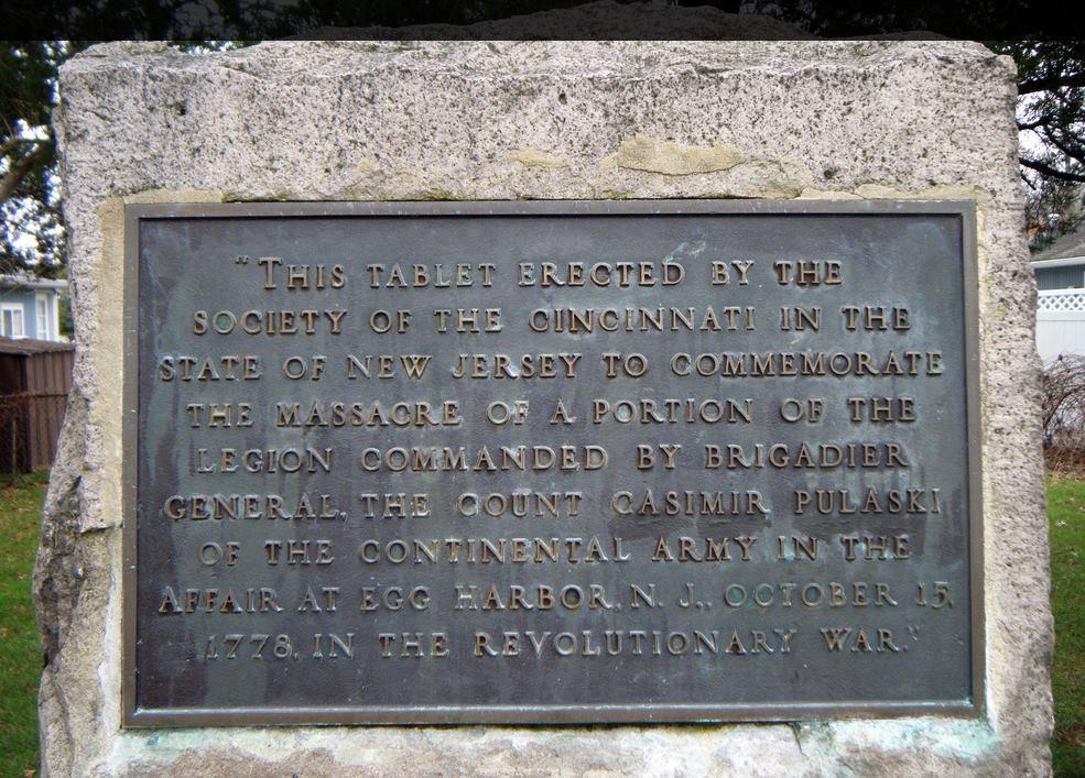 Little Egg Harbor Massacre Monument, Little Egg Harbor Township, New Jersey