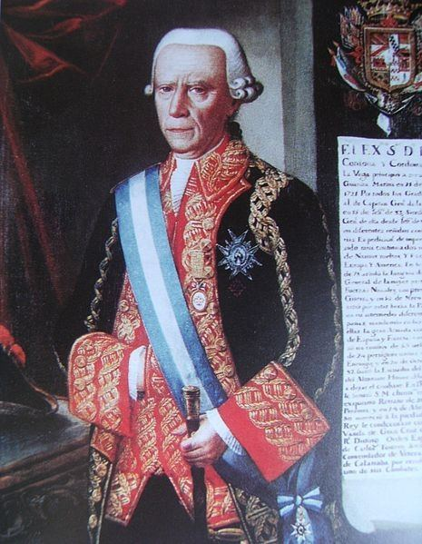 Admiral Luis de Cordoba y Cordoba