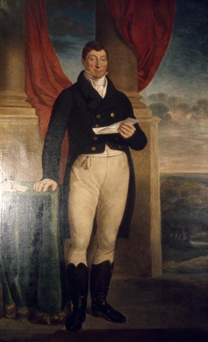 Marquis de Lafayette by Edward Peticolas