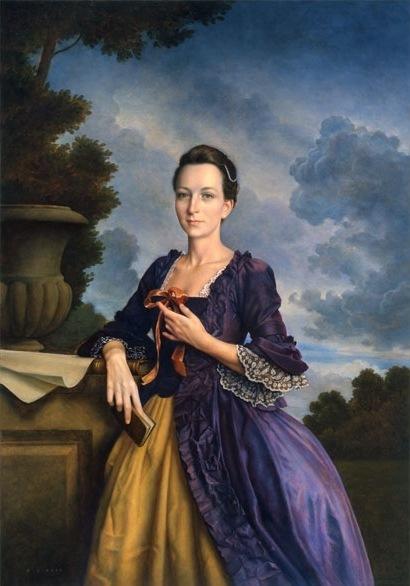 Martha Washington by Michael J. Deas