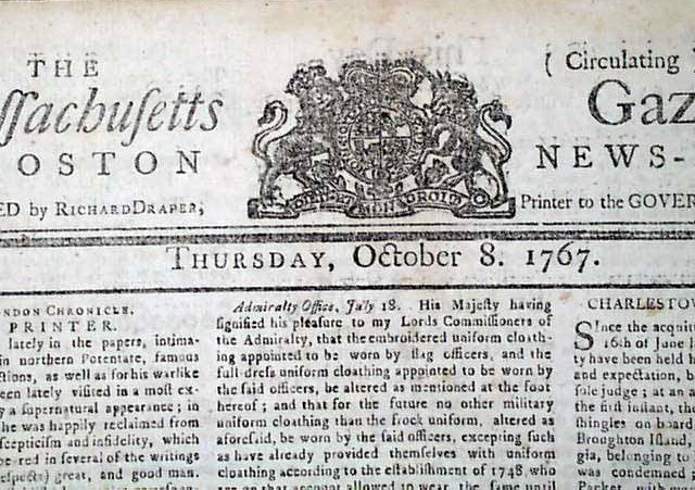 Massachusetts Gazette & Boston News-Letter