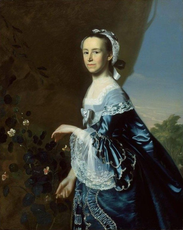 Mercy Otis Warren by John Singleton Copley