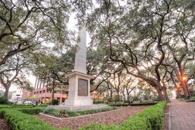 General Nathanael Greene Memorial, Savannah, Georgia