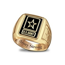 Officially Licensed US Army Ring