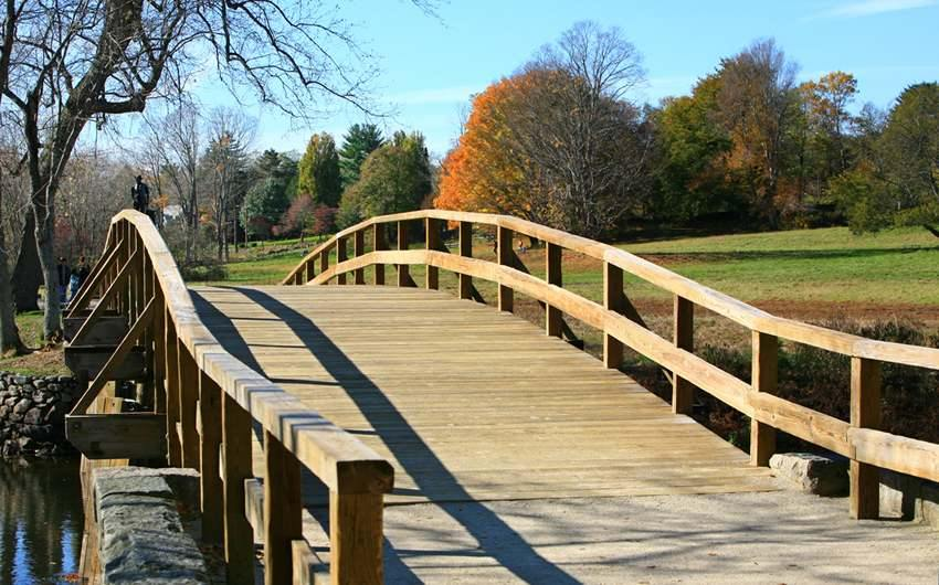 The Olde North Bridge, Concord, Massachusetts