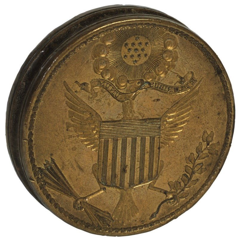 Original die of the Great Seal of the United States