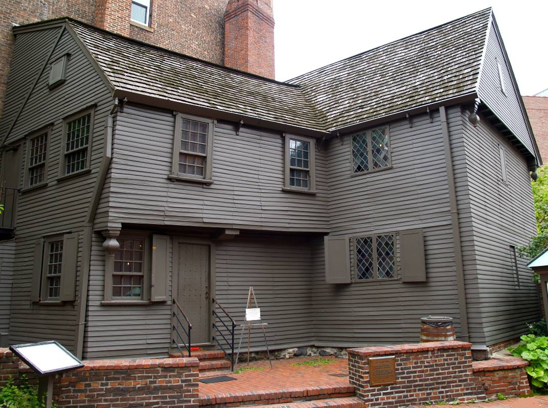Paul Revere House, Boston, Massachusetts