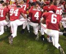 Prayer at a football game