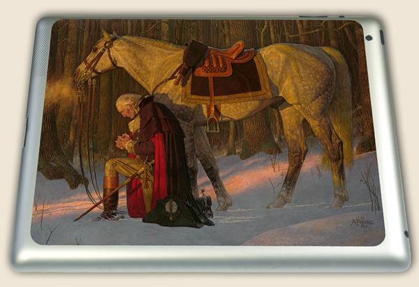 The Prayer at Valley Forge Decal