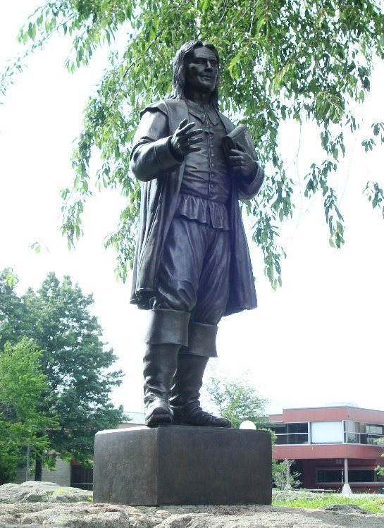 Roger Williams Statue, Roger Williams University, Nashville, Tennessee