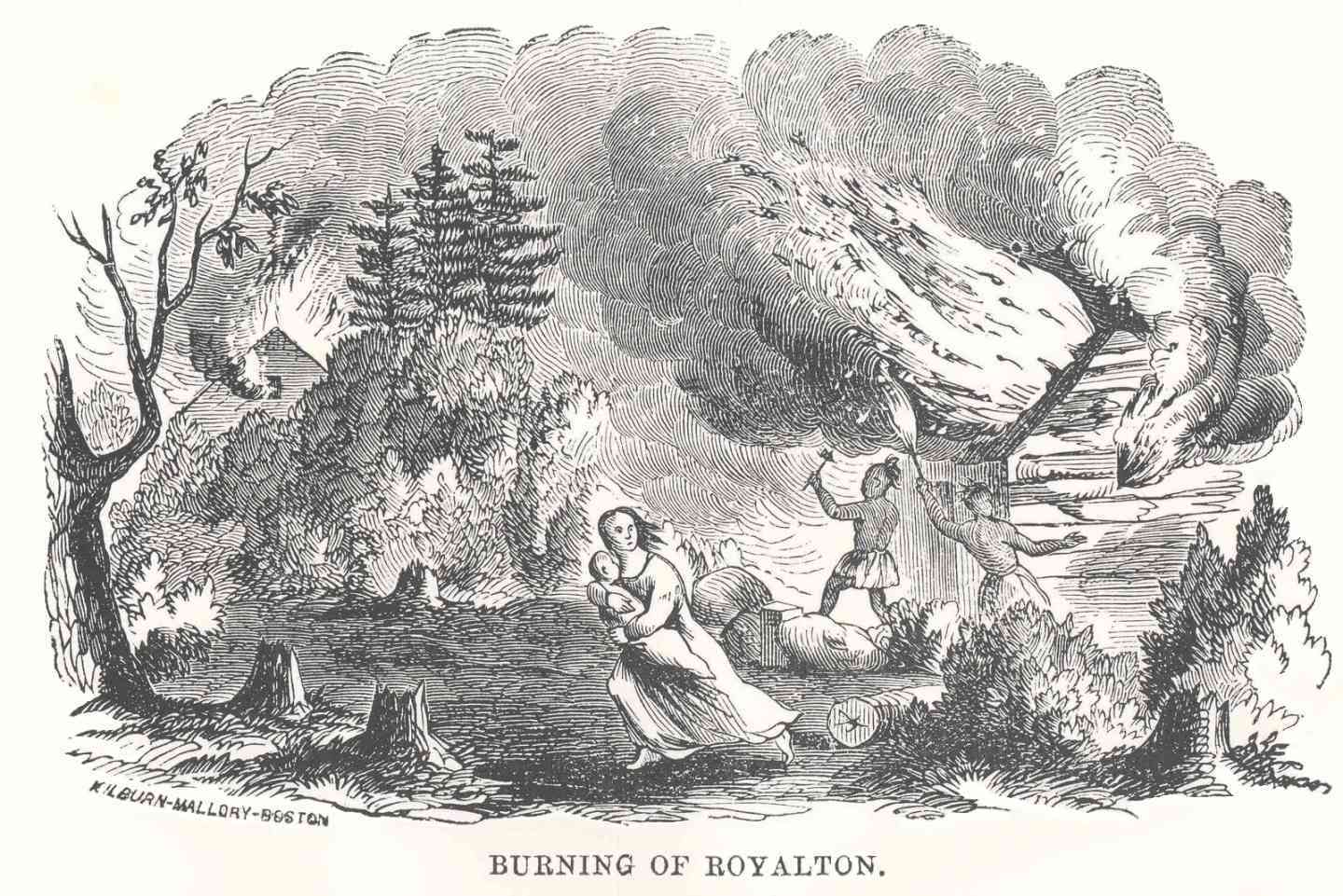 Burning of Royalton
