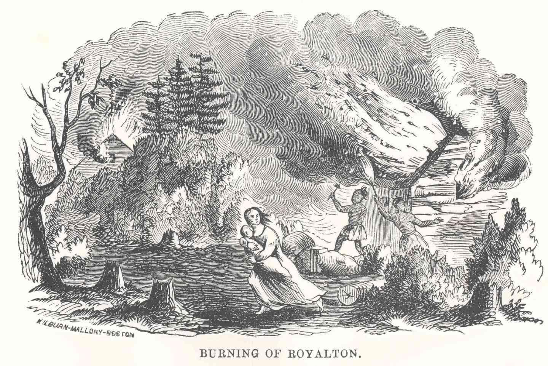 Burning of Royalton