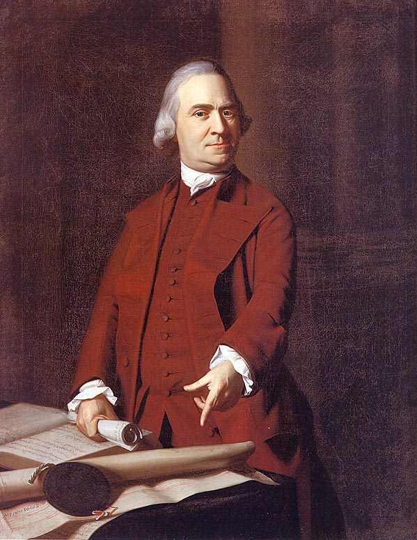 Samuel Adams Portrait by John Singleton Copley