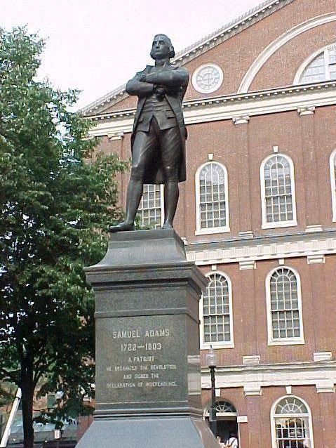 Samuel Adams Statue, Faneuil Hall, Boston, Massachusetts