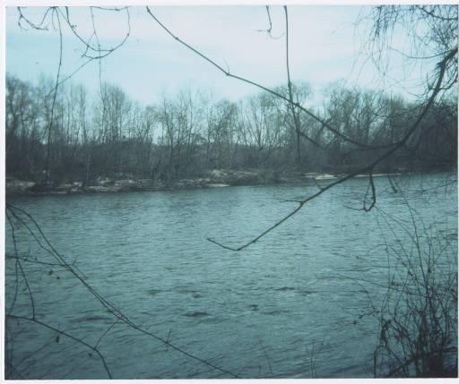 Shallow Ford Crossing, Yadkin River, North Carolina