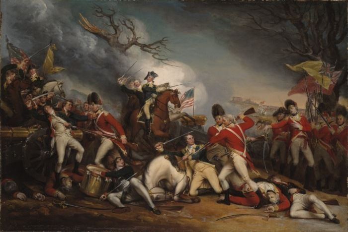 The Death of General Mercer at the Battle of Princeton, January 3, 1777, by John Trumbull