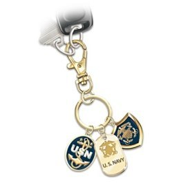 US Navy Key Chain