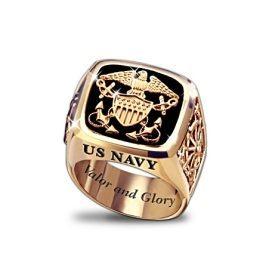 US Navy Men's Ring