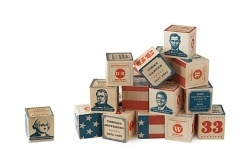 US Presidents Building Blocks