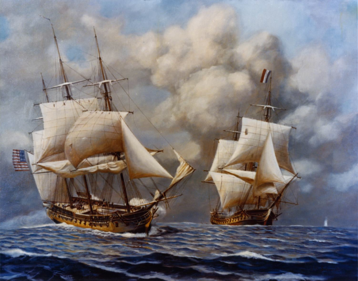 USS Constellation captures the L'Insurgente