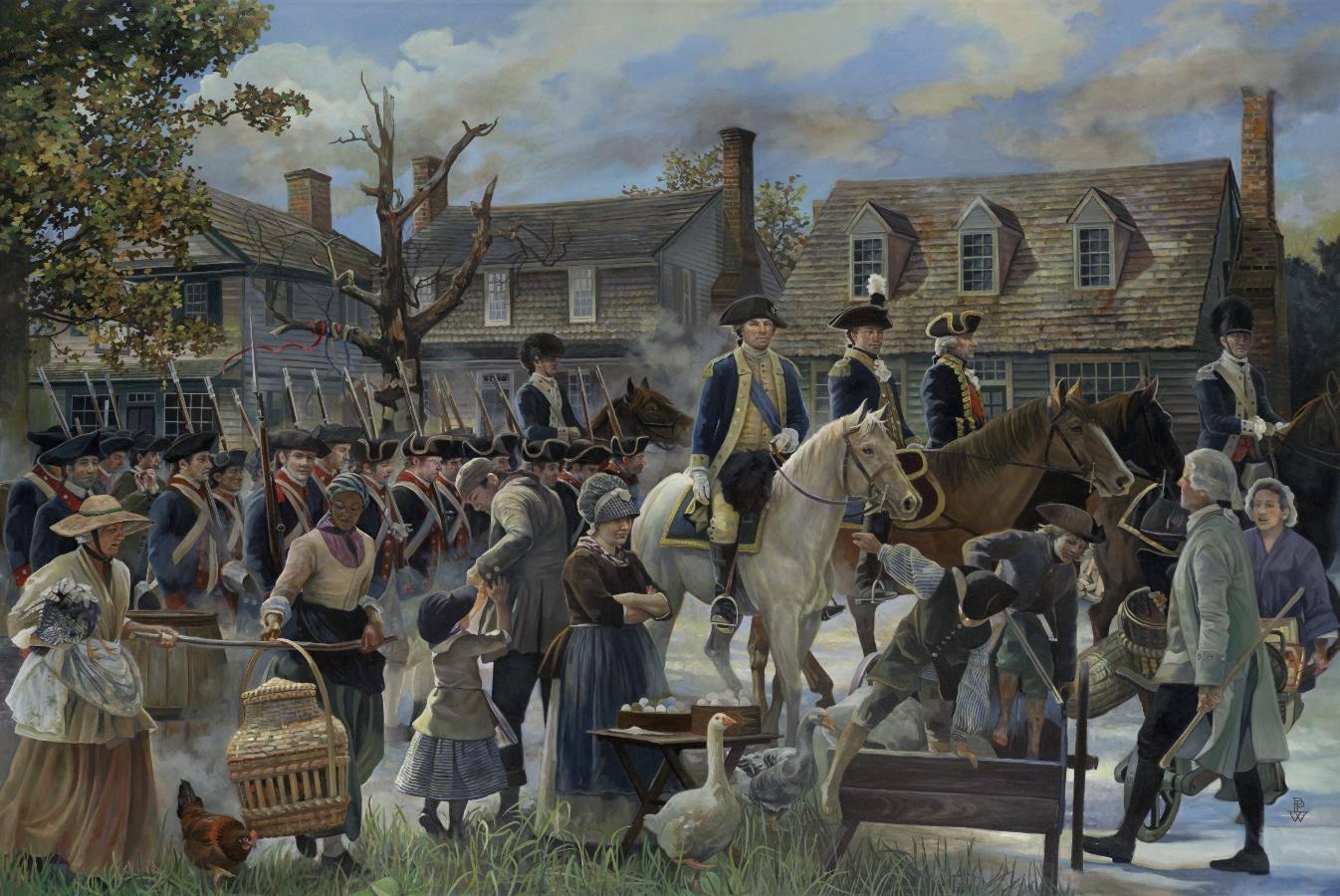 Williamsburg to Yorktown by Pamela Patrick White
