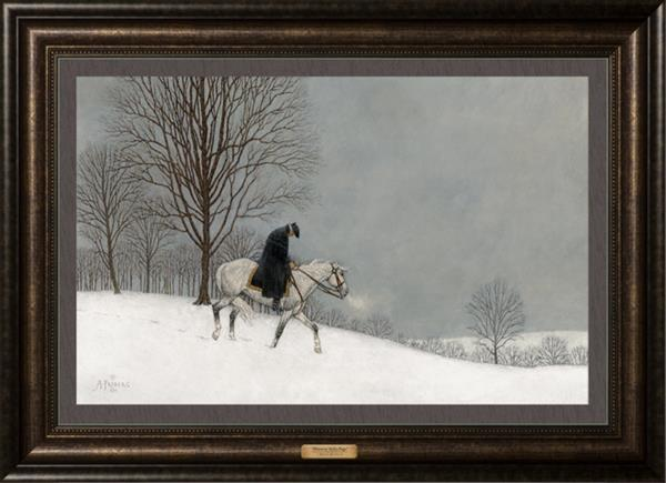 Winter at Valley Forge by Arnold Friberg
