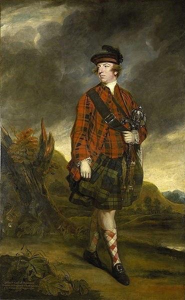 Governor John Murray, the Earl of Dunmore by Joshua Reynolds