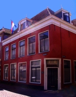 John Adams home, Leiden, the Netherlands