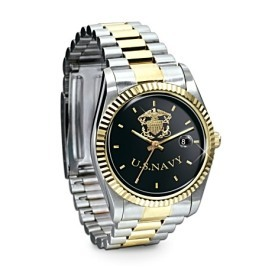 Stainless Steel US Navy Men's Watch